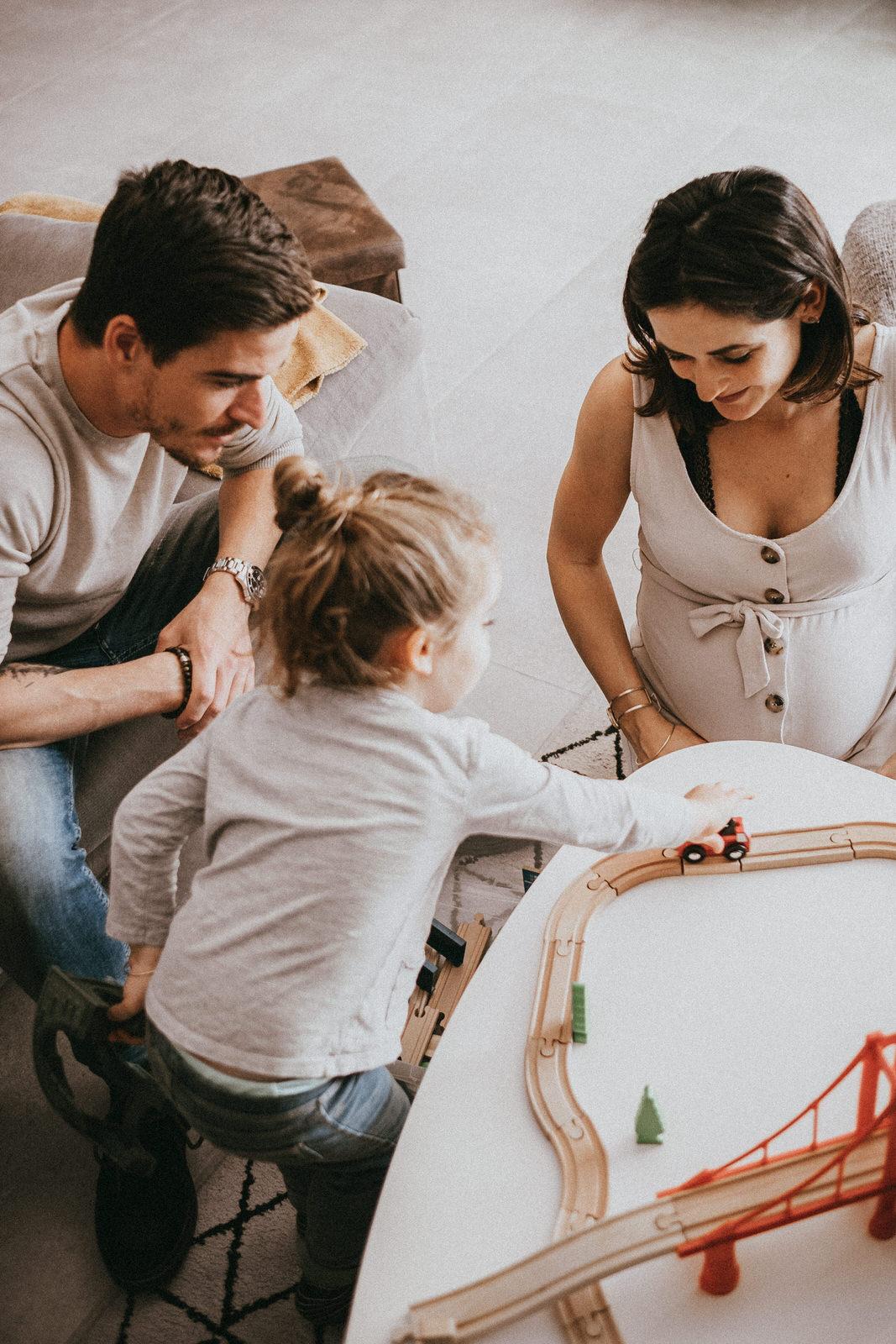 séance famille dans le gard