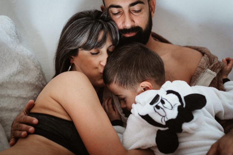 Séance famille & grossesse à Cavaillon